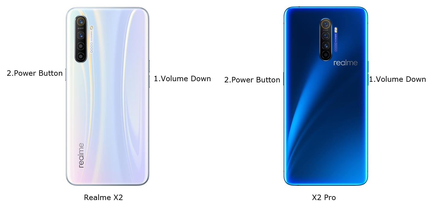 Realme X2 and X2 Pro Recovery Mode