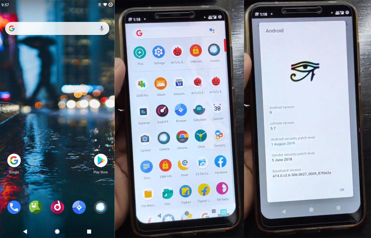 crDroid Pie ROM Pocophone F1 Screenshots