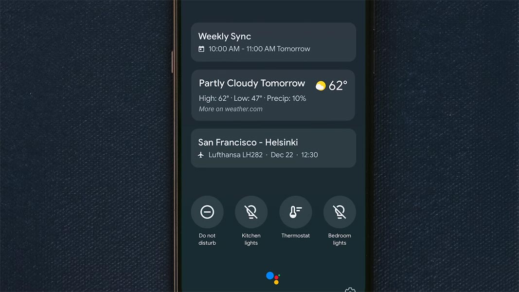 Ambient Mode Display Notifications