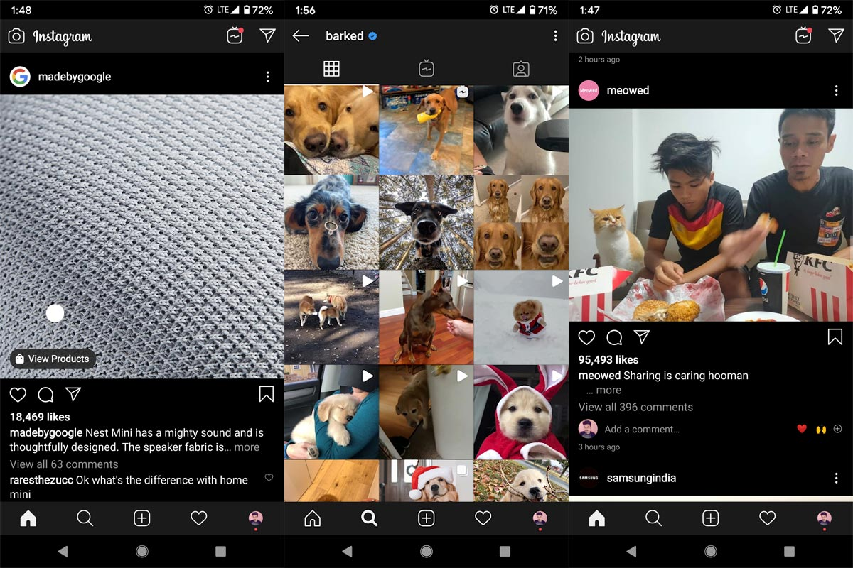 Instagram Feed Page