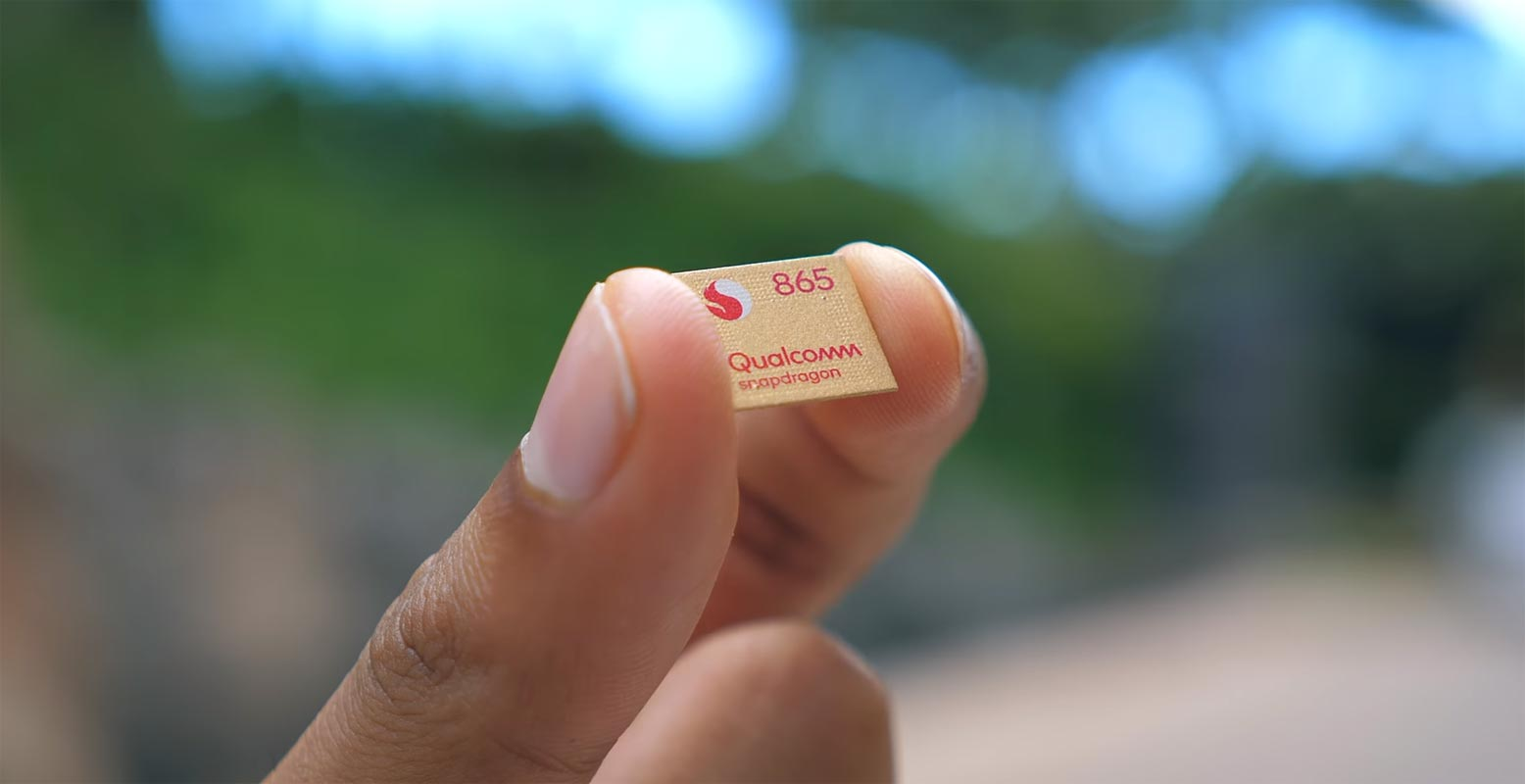 Qualcomm Snapdragon 865 in the Finger