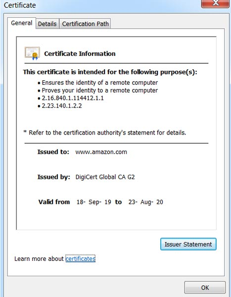 Same Domain HTTPS Certificate