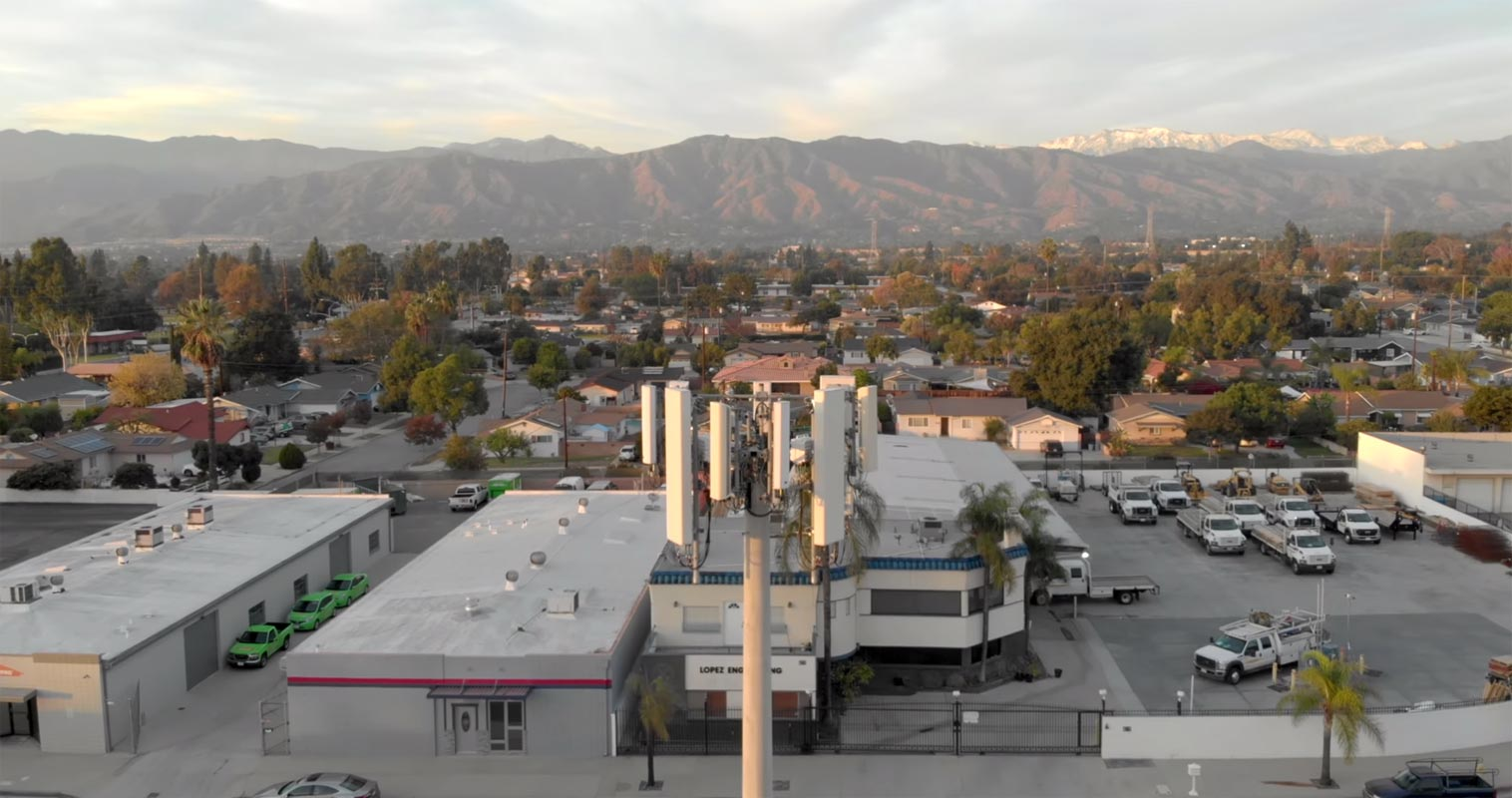 T-Mobile 5G Towers in City