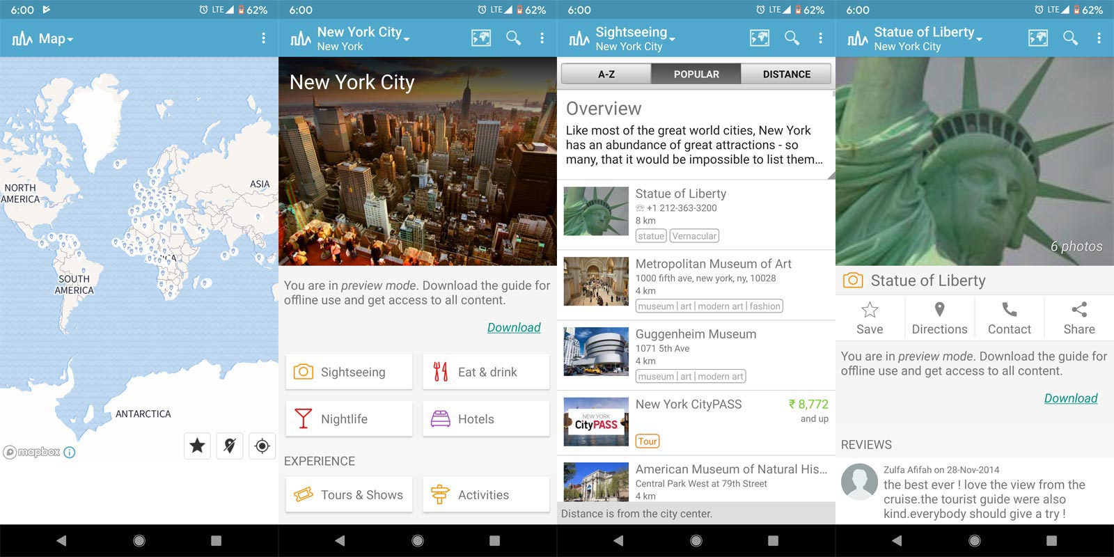 World Travel Guide by Triposo