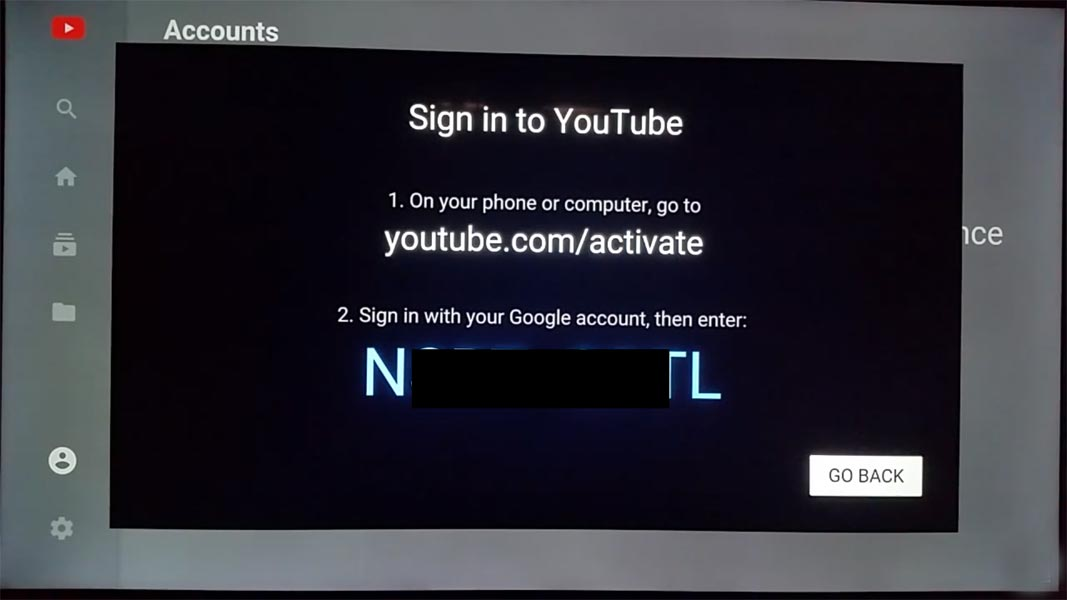 Activate Youtube Roku Code Method