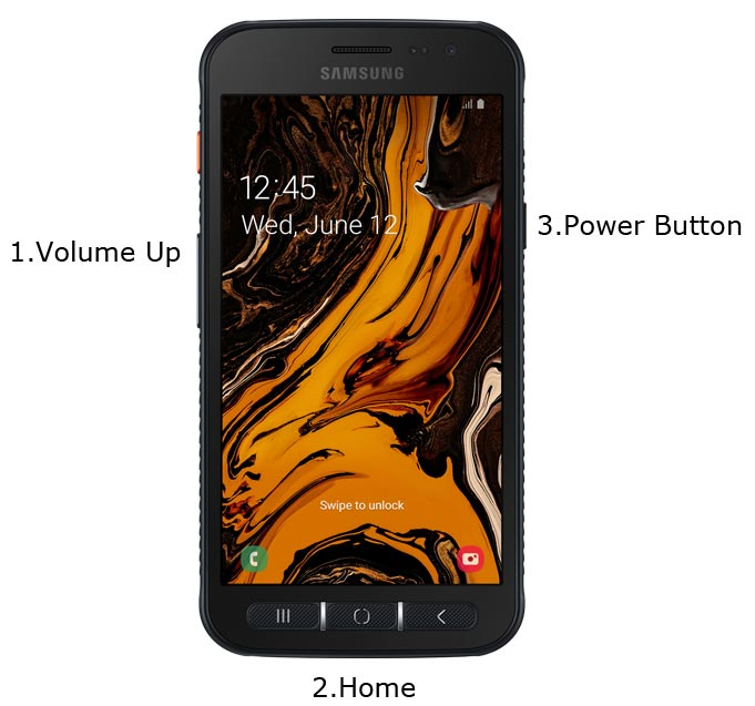Samsung Galaxy XCover 4s Recovery Mode