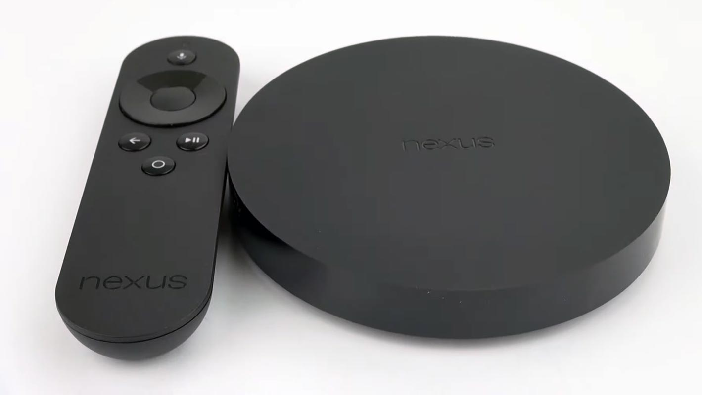 Nexus Player on the White Table