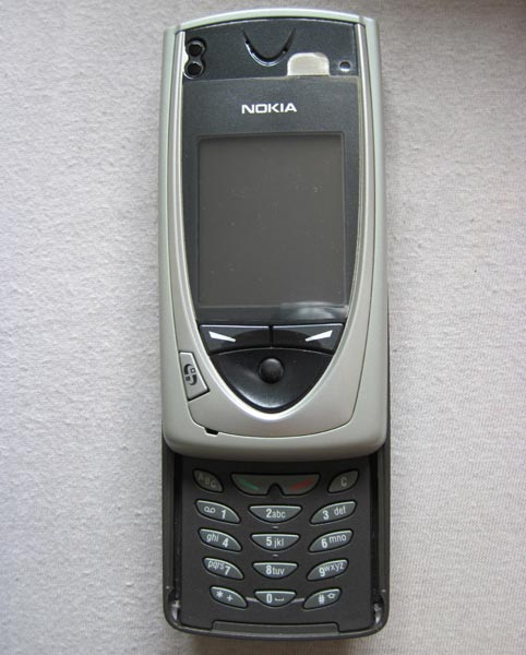 Nokia 7650 Mobile With Slide out