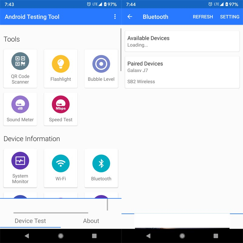 Test Your Android App Screenshots