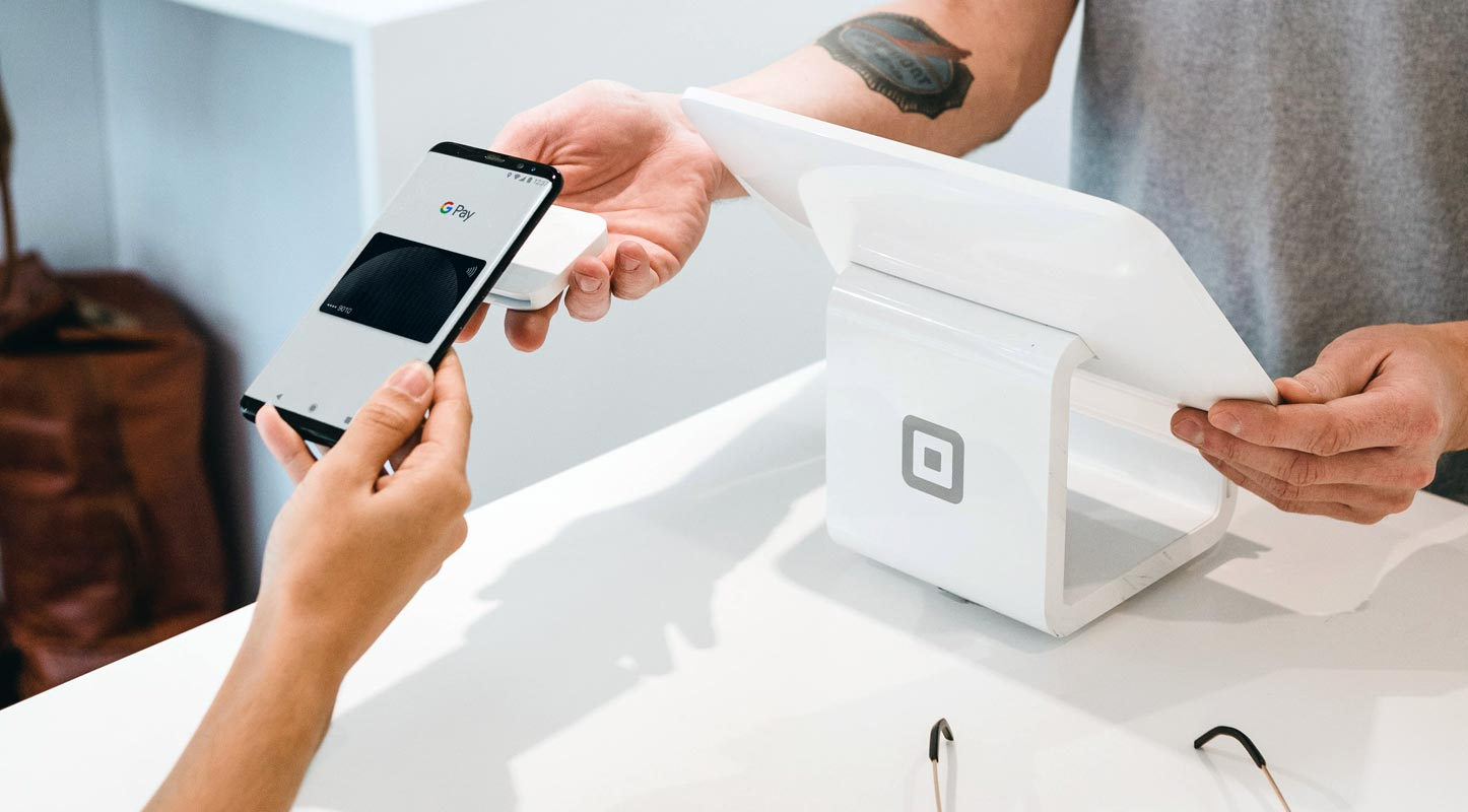 Google Pay use in merchantise