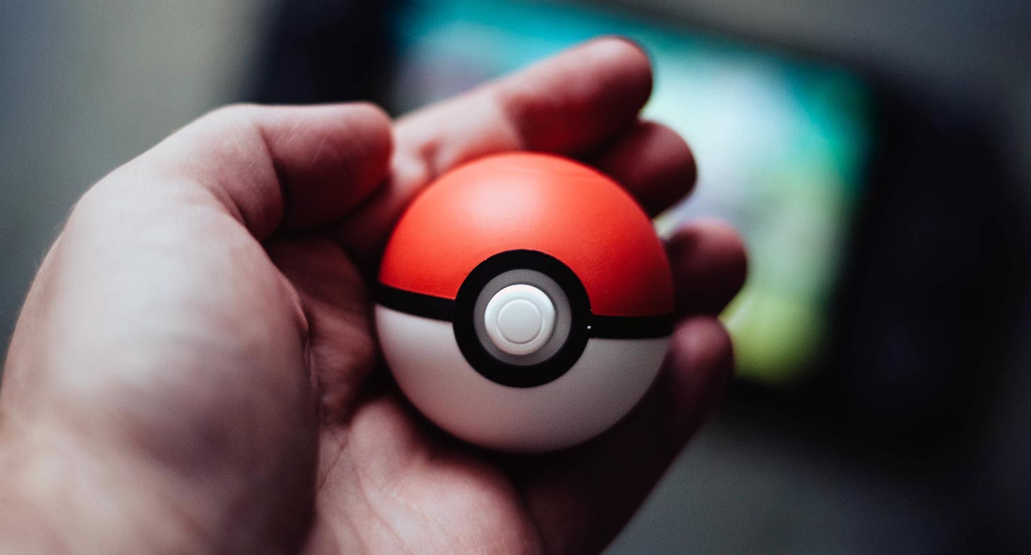 Pokeball Toy in Hand