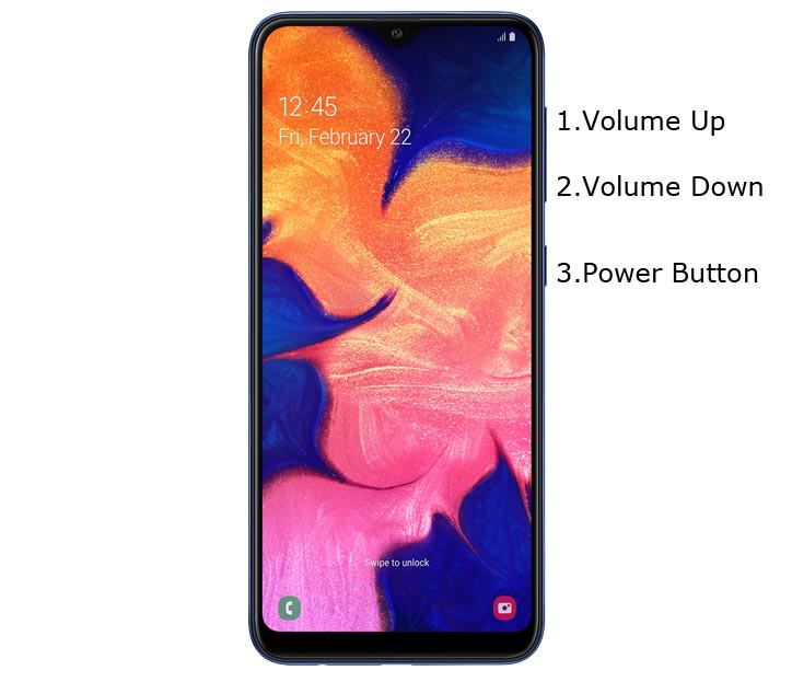 Samsung Galaxy A10 Recovery Mode