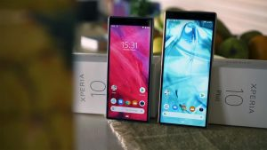 Sony Xperia 10 and Xperia 10 Plus with Retail Box