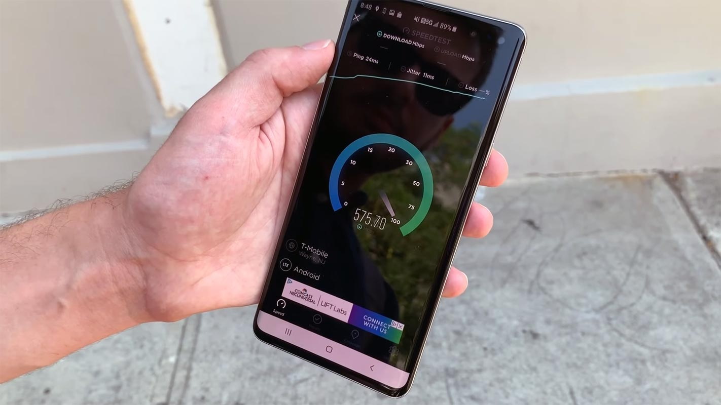 T-Mobile mid-band 5G Hits 1Gbps speed