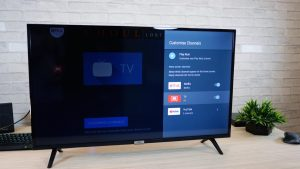 TLC Android TV on the Table