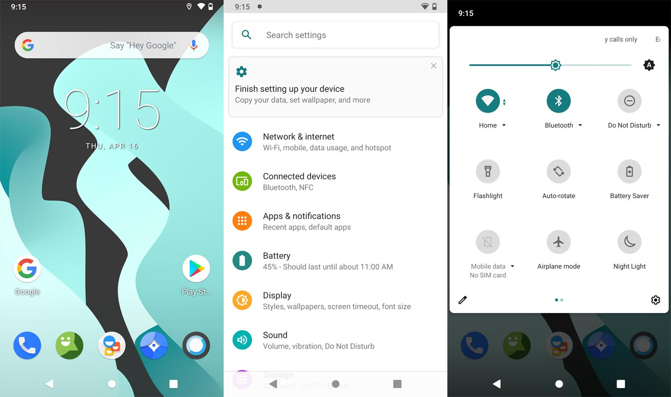 Lineage OS 17.1 Android 10 Screenshots