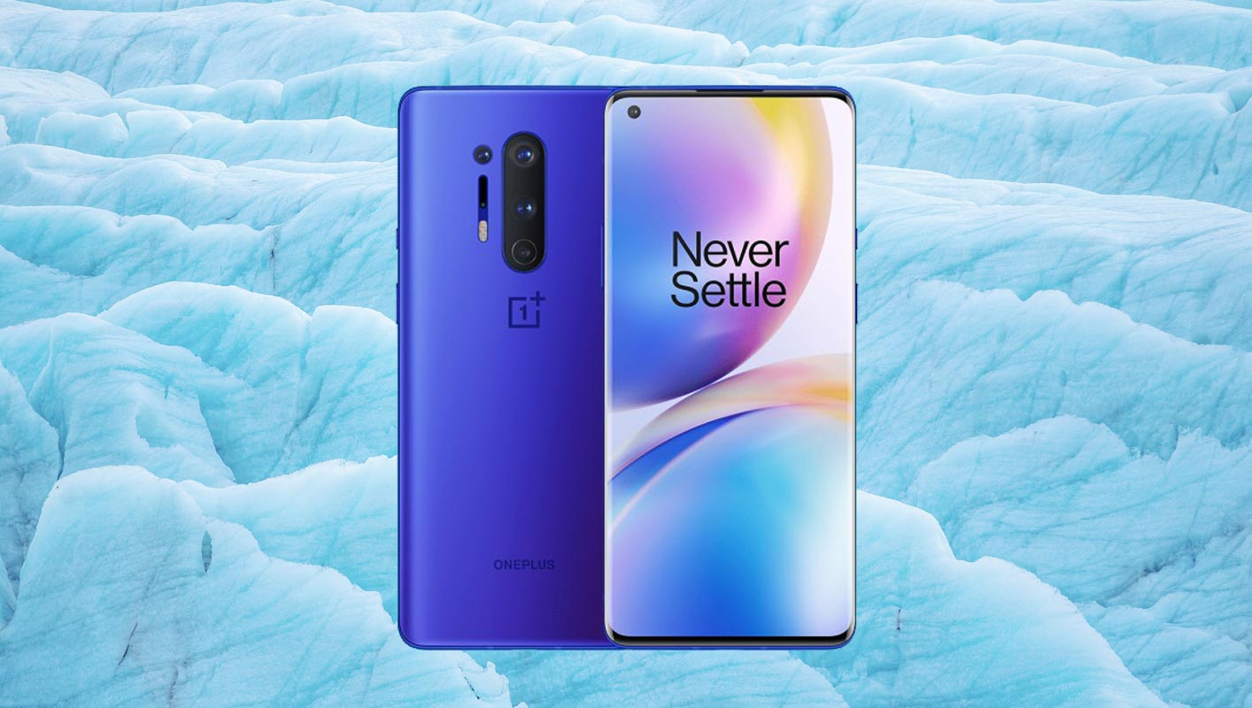 OnePlus 8 Ice Blue Color