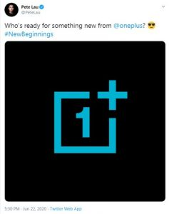 OnePlus CEO Pete Lau tweet about OnePlus Nord