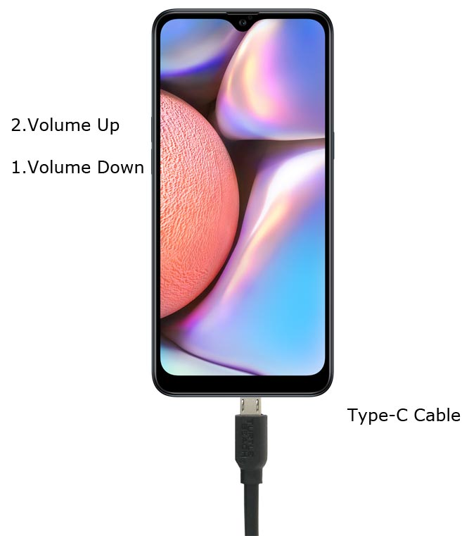 Samsung Galaxy A10s Download Mode Key Combinations
