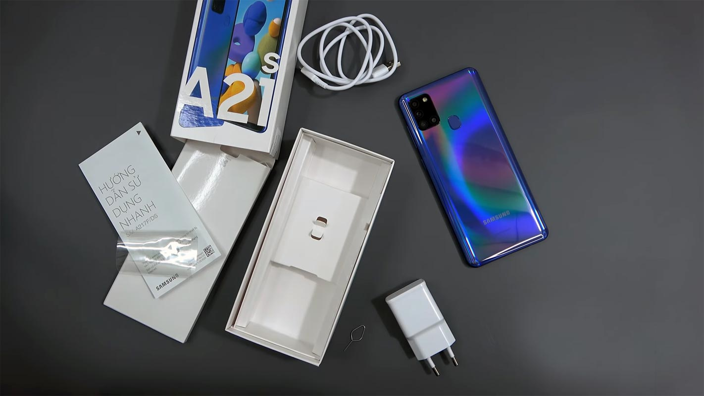 Samsung Galaxy A21s Unboxed