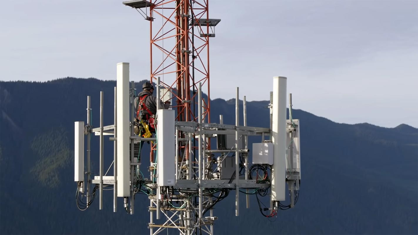 T-Mobile 5G Tower