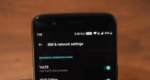 VoWiFi enable in OnePlus Devices