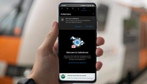 Microsoft Edge Collections in Android Mobile