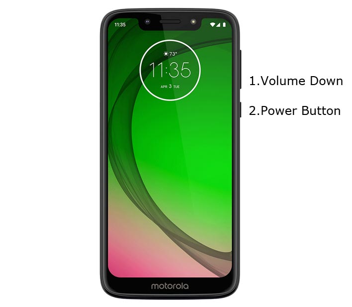 Moto G7 Play Fastboot Mode