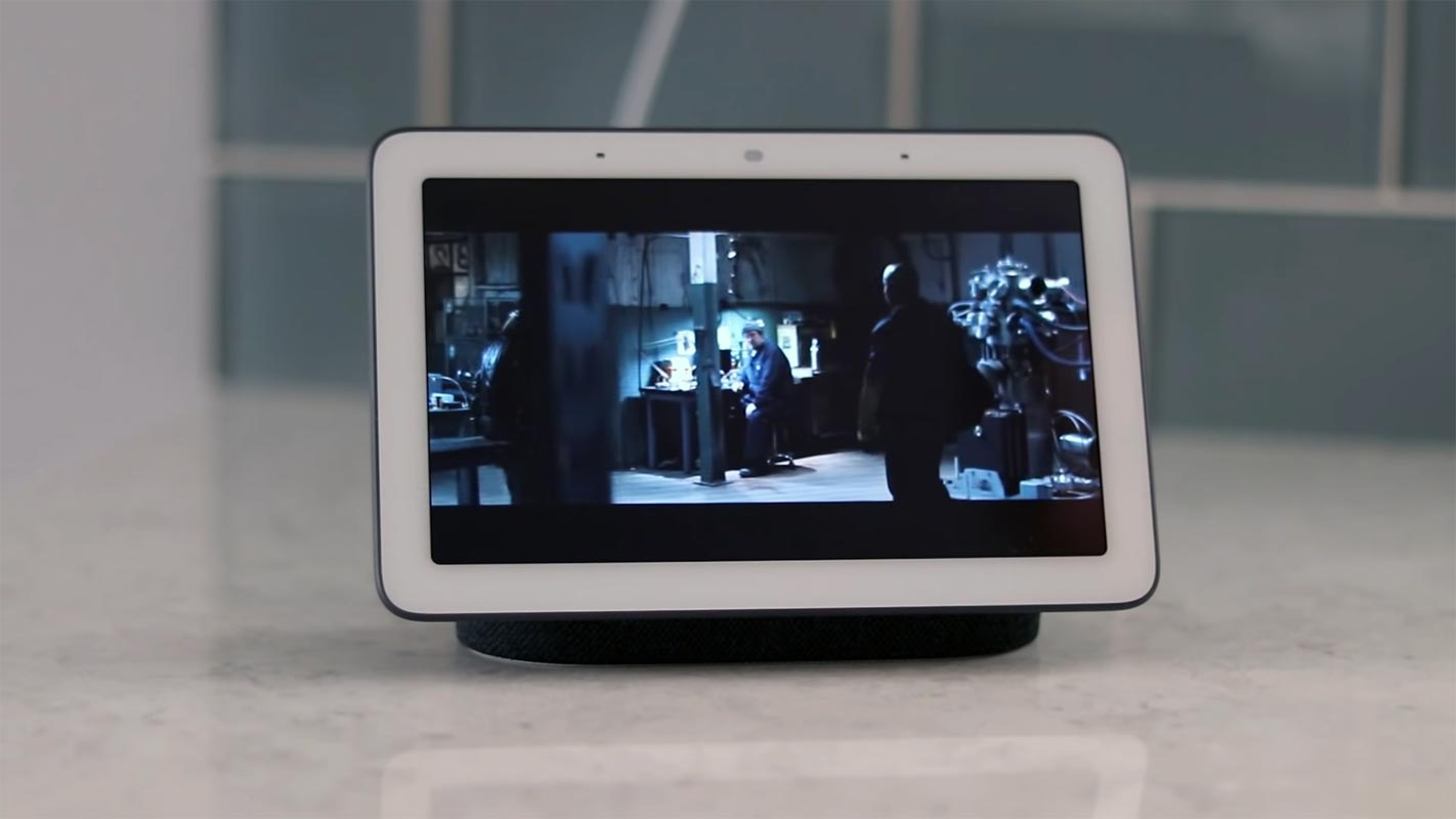 Netflix movie Play in Google Home Hub