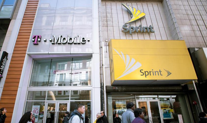 Sprint and T-Mobile Stores Nearby