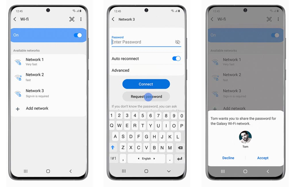 Advance Wi-Fi Connectivity feature One UI 2.5