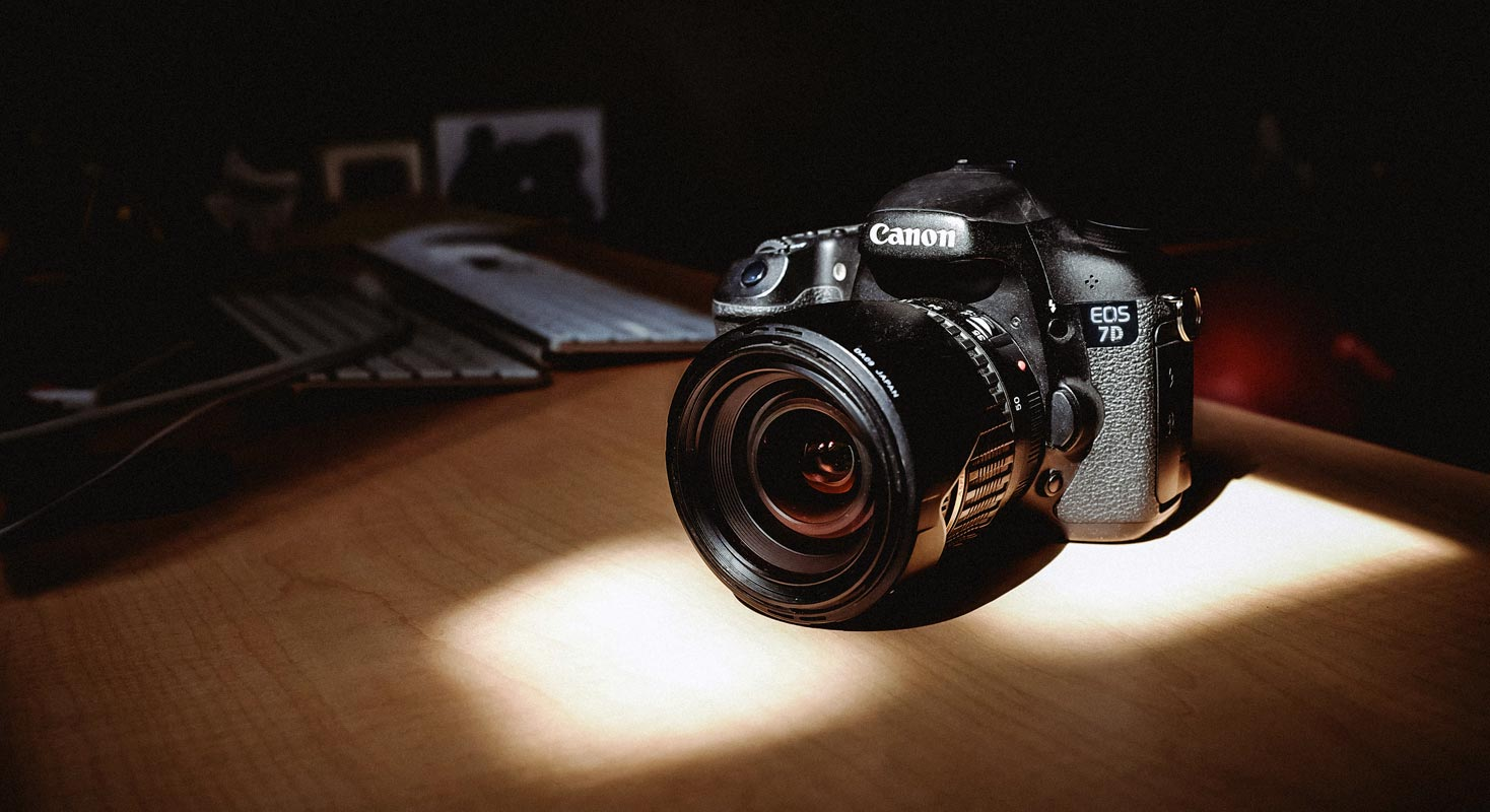 Canon Camera on the Table