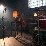 Musical Instruments in the Studio on Spot light