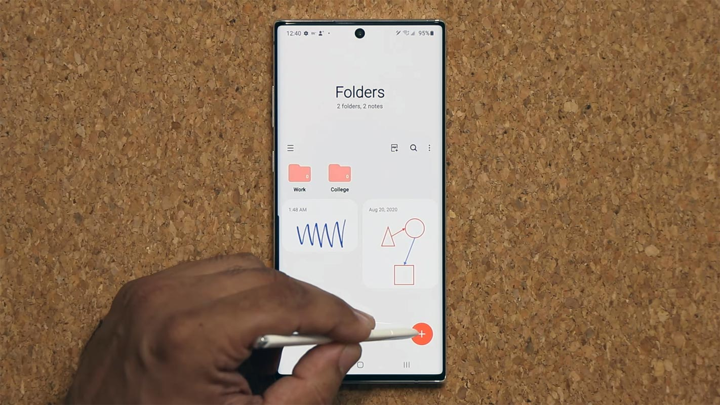 Samsung Galaxy Note 20 One UI 2.5 feature