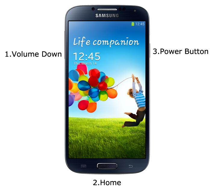 Samsung Galaxy S4 Download Mode