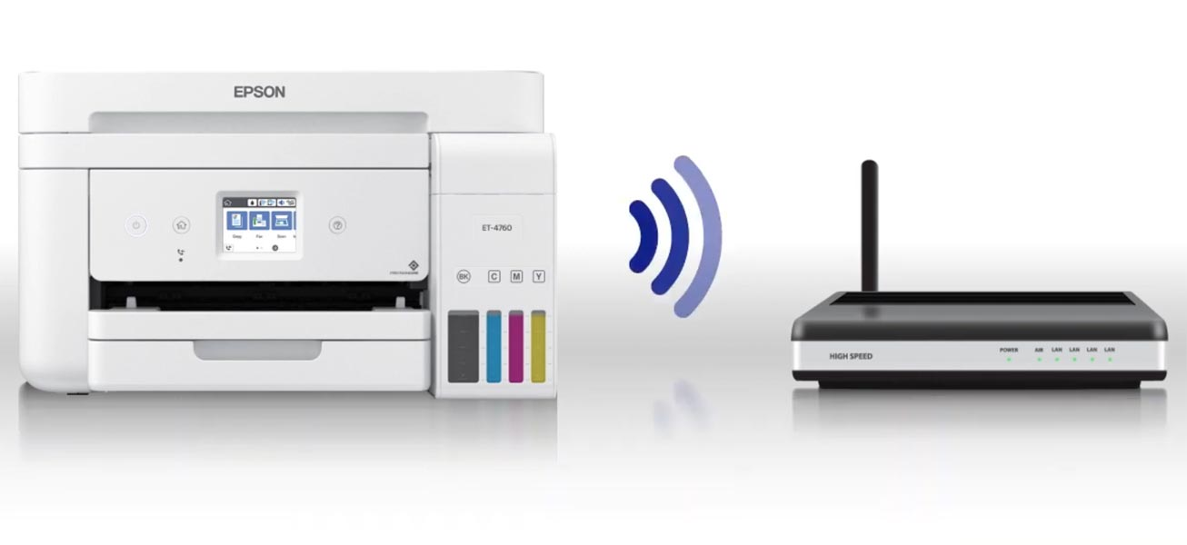 Connect Printer with Wi-Fi