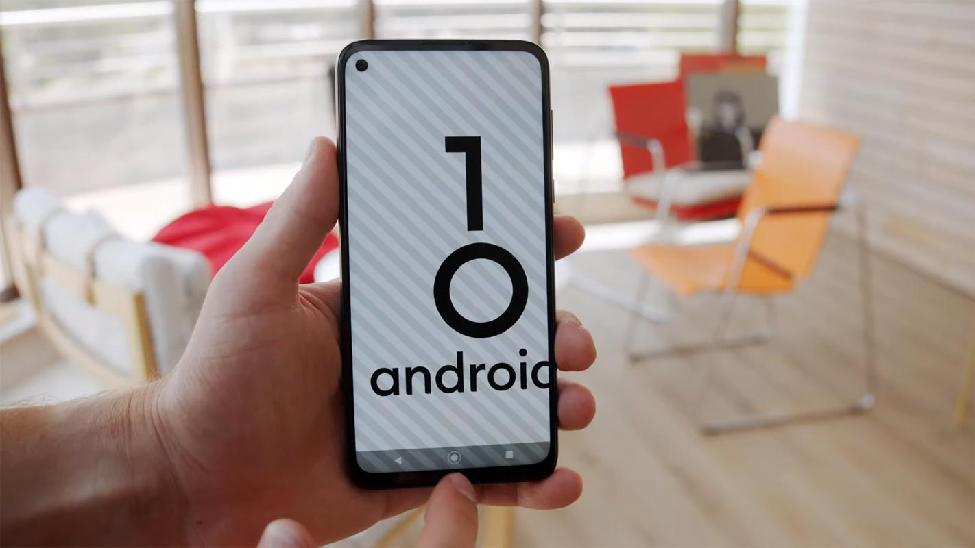 Moto G Pro Android 10 Animation