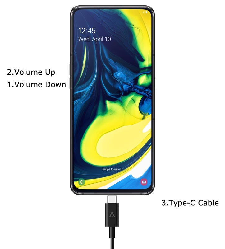 Samsung Galaxy A80 Download Mode