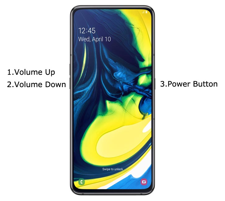 Samsung Galaxy A80 Recovery Mode