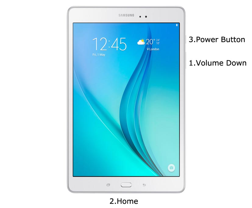 Samsung Galaxy Tab A 9.7 2015 Download Mode