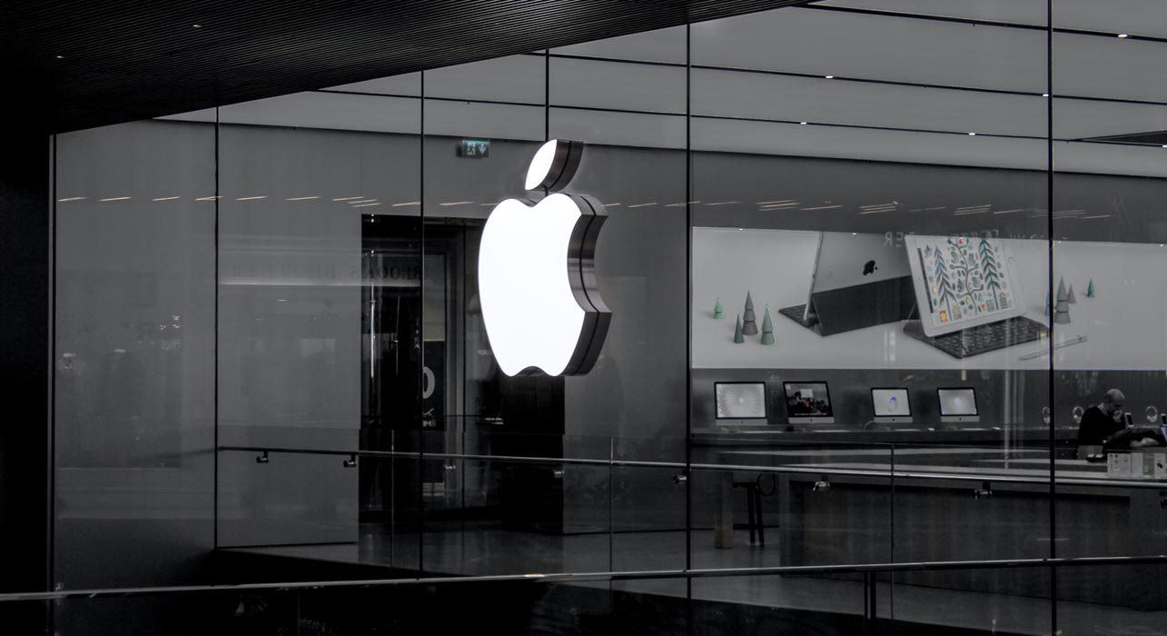 Apple Store with Devices Display
