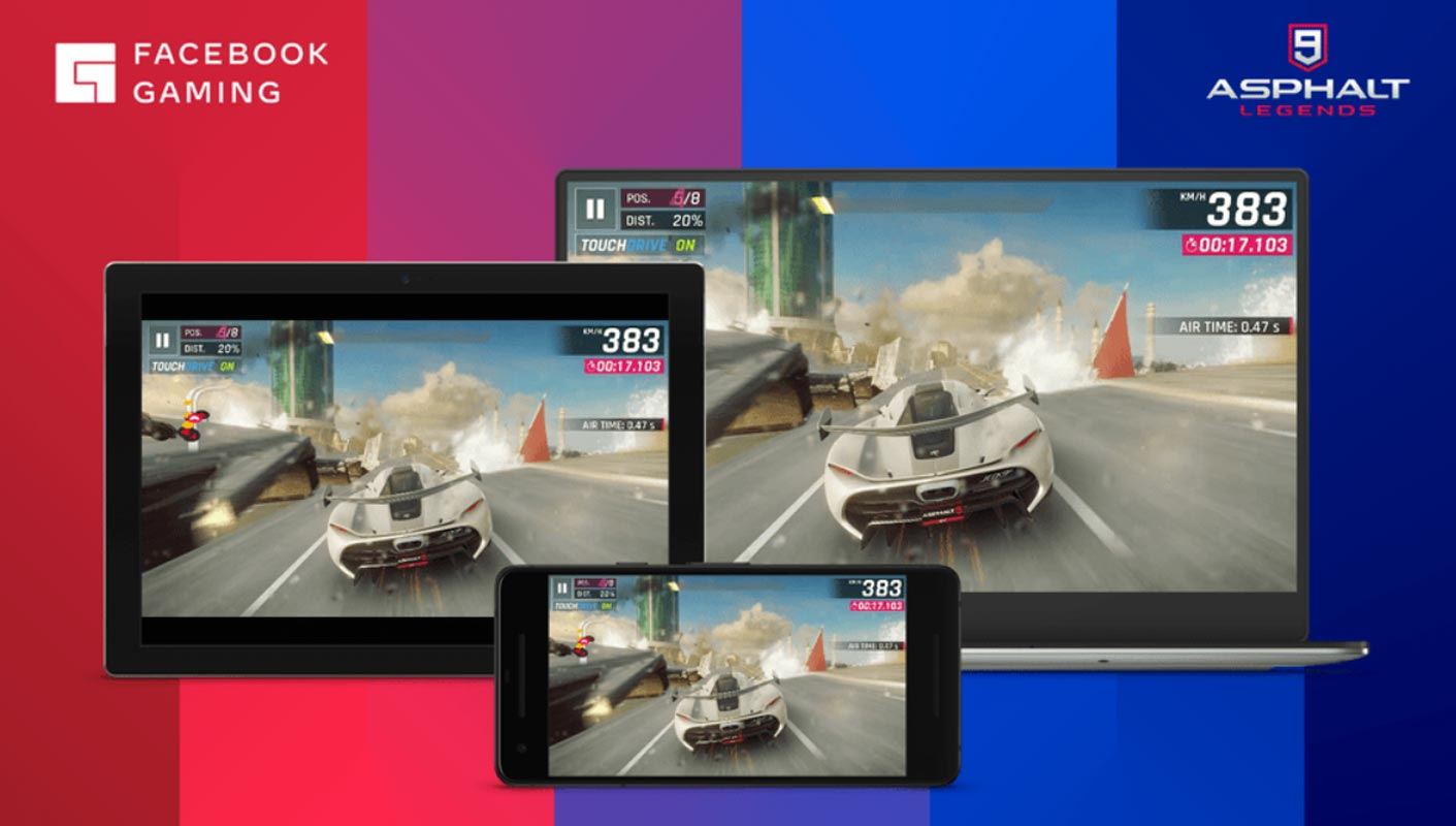 Facebook Android Games Gaming in Cloud