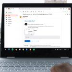 Google Drive files permissions grand Gmail Pixelbook