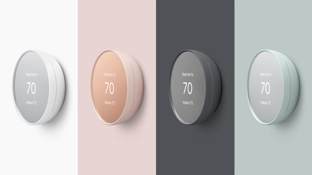 Nest Thermostat 2020 Colors