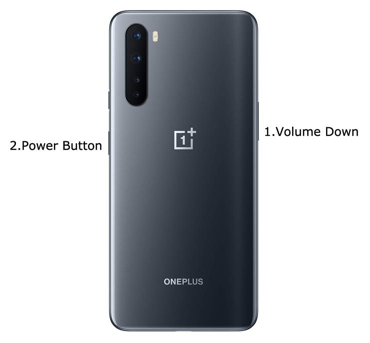 OnePlus Nord Fastboot Mode