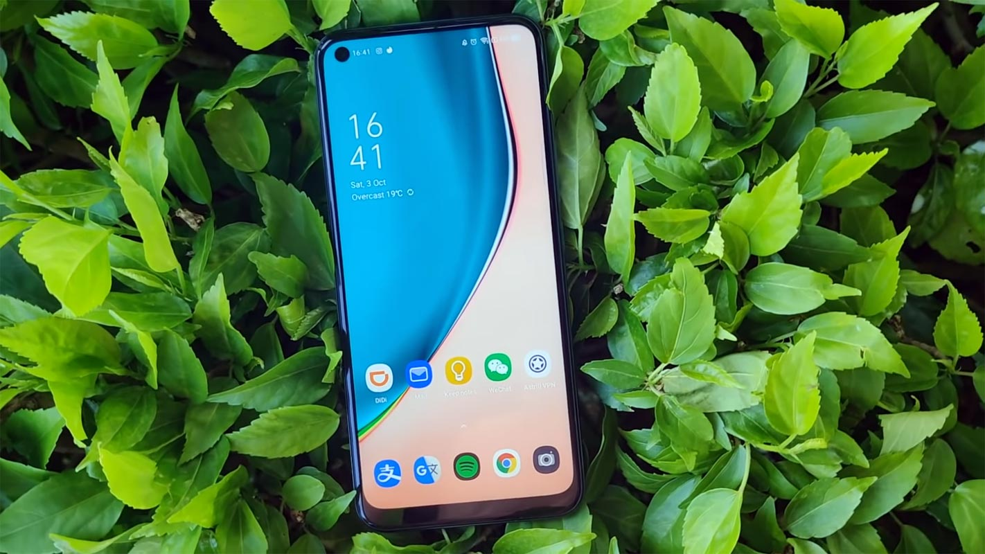 Realme 7i Unlocked Home Screen
