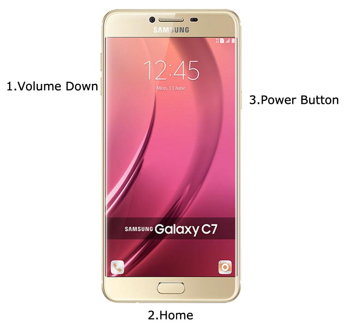 Samsung Galaxy C7 Download Mode