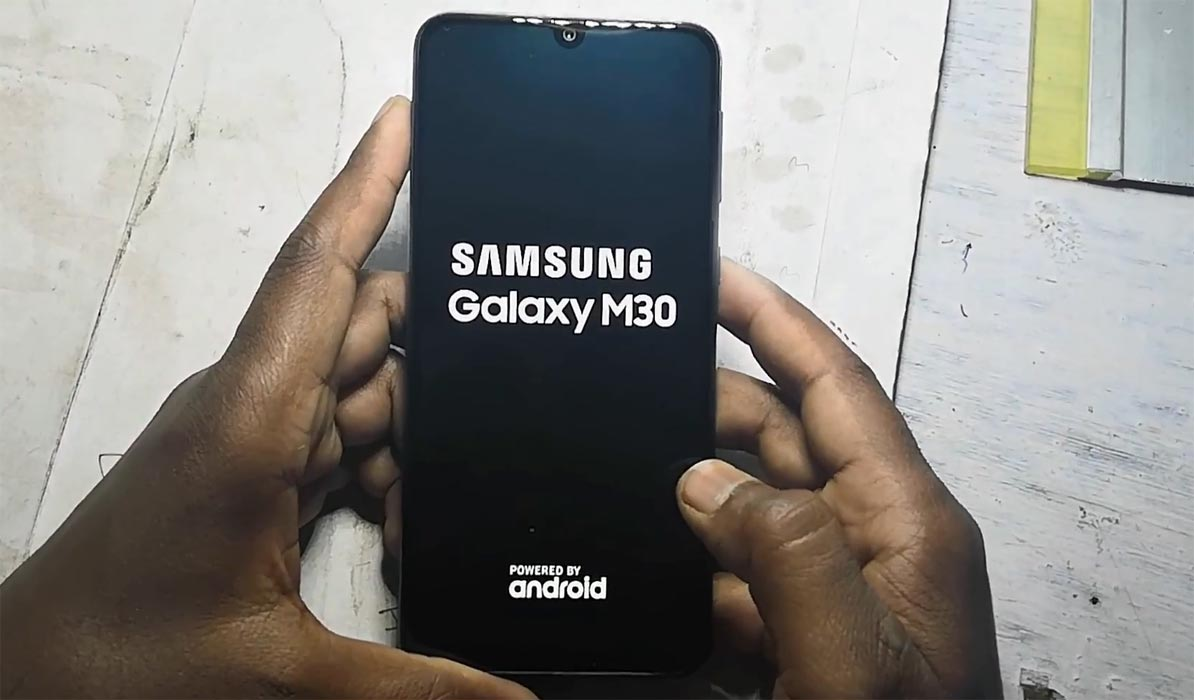 Samsung Galaxy M30 Boot Logo