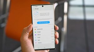 Samsung Galaxy Note10 Storage Options