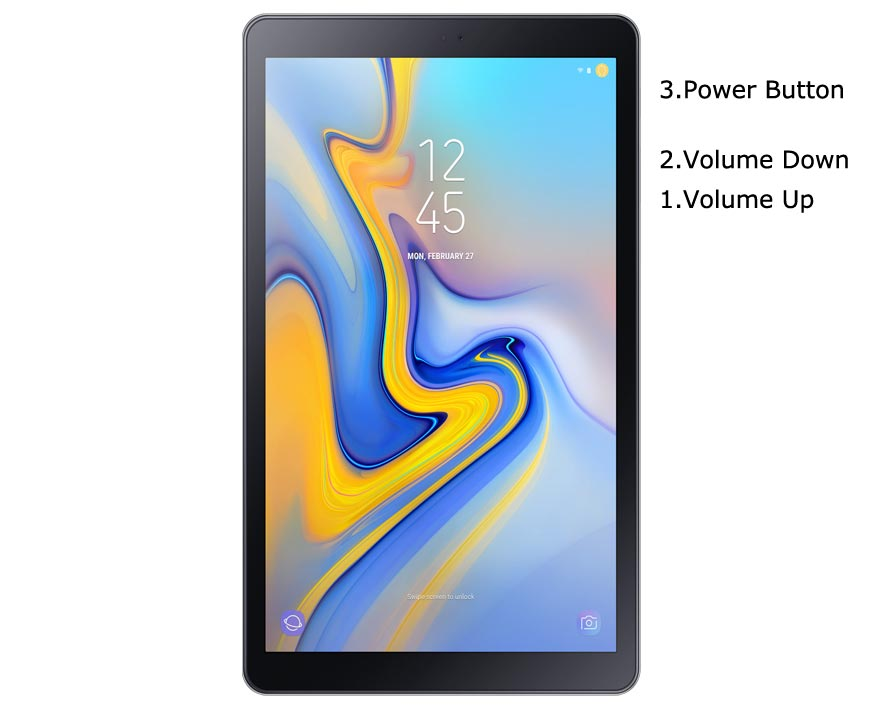 Samsung Galaxy Tab A 10.5 2018 Recovery Mode
